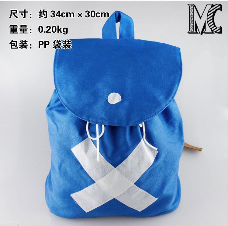 Anime ONE PIECE Backpack Tony Chopper Schoolbag Shoulder Bag Cosplay Cute Mochila For Kids Gift