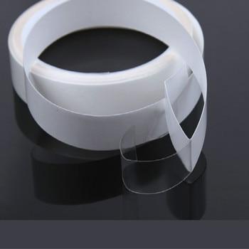 цена на 1.5cm*5m Clear Invisible Transparent TPU Car Door Edge Guard Paint Protection Film Anti-Scratch Car Sticker Car Styling