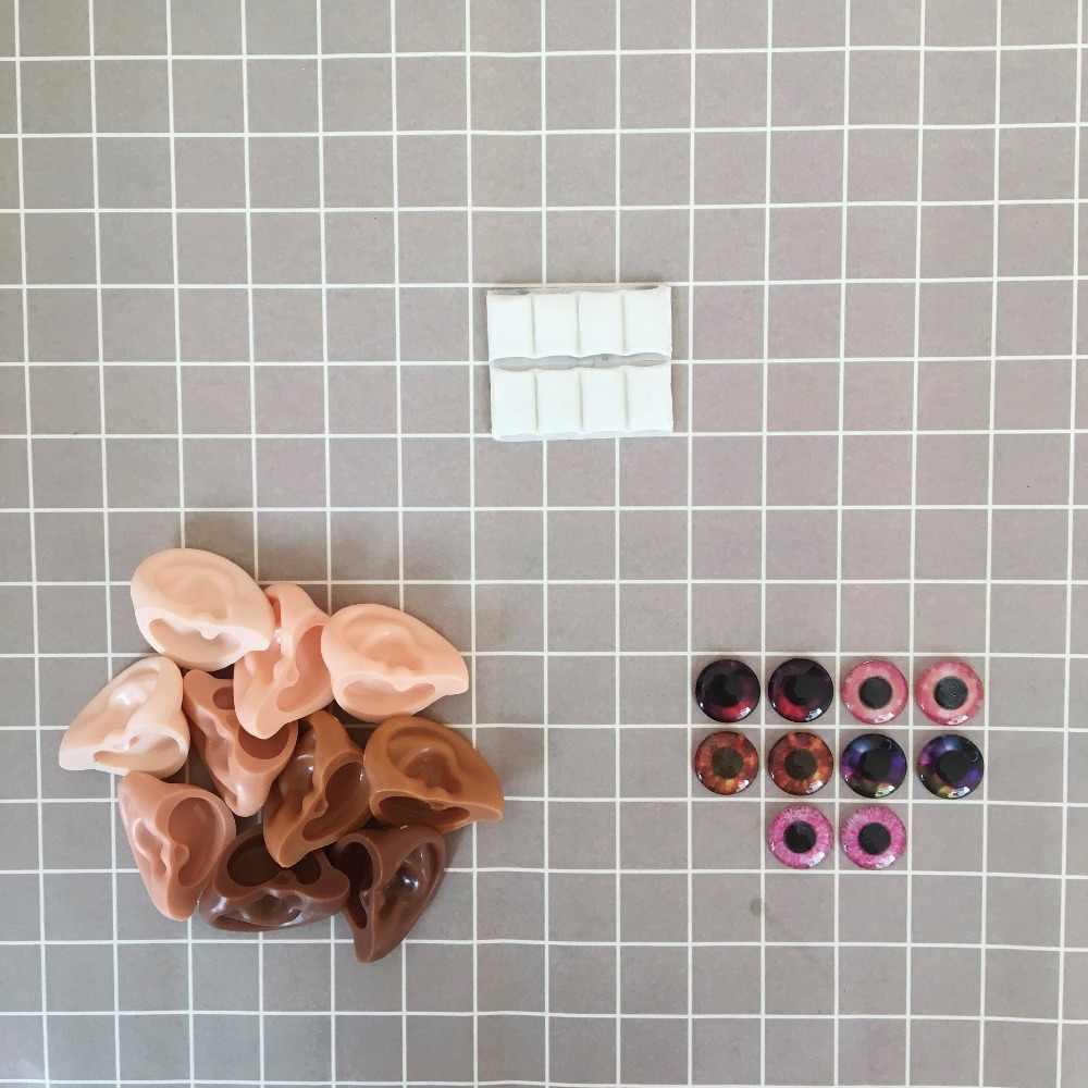 Макияж blyth куклы eyechips и эльф/человеческие аксессуары для ушей глины смолы материал все виды кожи для 1/6 игрушки BJD измененный подарок