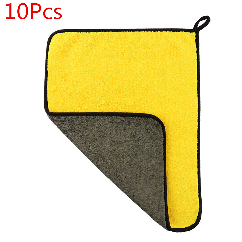 5/10pcs Extra Soft 30x60CM Car Wash Microfiber Towel Car Cleaning Drying Cloth Car Care Cloth Detailing Car WashTowel NeverScrat