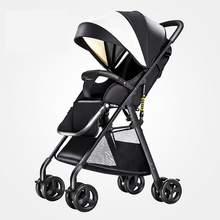 2019 new 4.5kg net weight baby stroller can sit lie light portable high landscape baby stroller baby travel baby stroller chbaby high landscape baby stroller ultra light seat can lie reversible child stroller four wheeled baby stroller