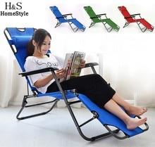 Muebles de exterior 153 cm/178 cm cubierta ya ocio silla plegable silla de playa heces honda reclinable sillas de camping cama