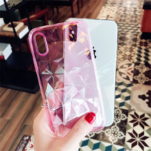 For Oneplus 6T Case Fundas Colorful Diamond Transparent Soft 3 3T 5 5T OnePlus 7 Oneplus6 Silicone Cover Phone