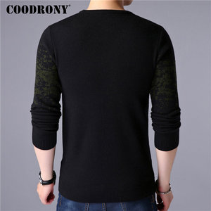 Image 4 - COODRONY Sweater Men Casual O Neck Pullover Men Clothes 2020 Autumn Winter New Arrival Top Sost Warm Mens Cashmere Sweaters 8257