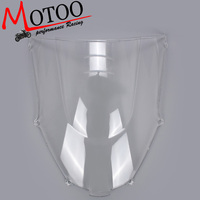 Motoo Motorcycle Wind Deflectors Wind shield Windshield WindScreen Double Bubble for kawasaki zx9r zx 9r 2000 2003