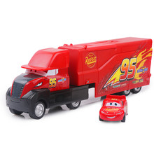 29cm Disney Pixar Cars 3 Big Size Lightning McQueen Mack Uncle Truck Plastic Model Car Christmas Birthday Gift Children Toy(China)