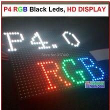 DIY p4 светодиодный дисплей модуль, 4 мм пикселей Крытый rgb полноцветный светодиодный экран 1/16 сканирования 128*128 мм 32*32 пикселей, HD p4 светодиодный модуль