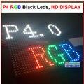P4 светодиодный модуль индикации, 4 мм пикселей крытый rgb полноцветный светодиодный экран 1/16 сканирования 128*128 мм 32*32 пикселей, HD p4 светодиодный модуль