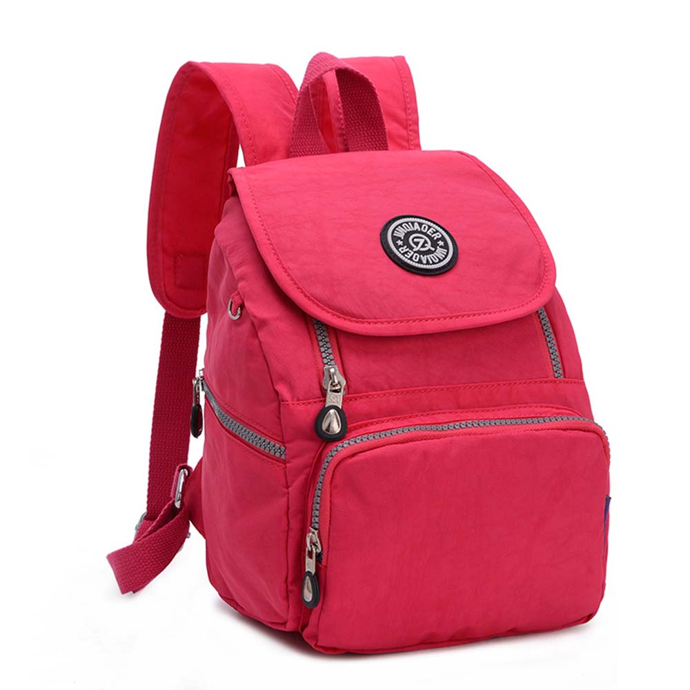 ღ ღWaterproof Backpack for Women Leisure Nylon Back Pack for ...