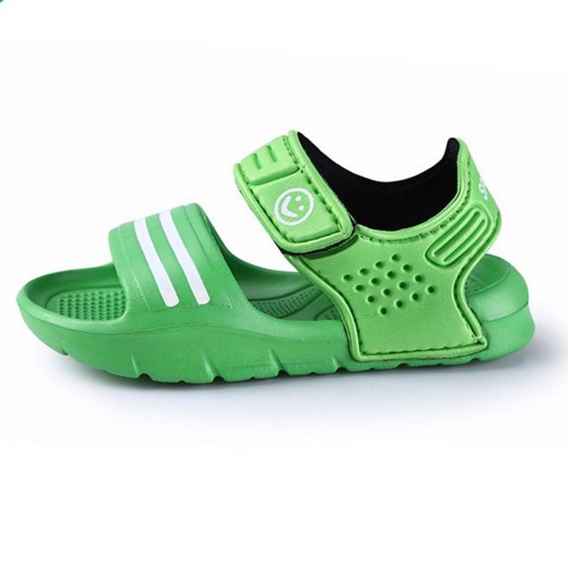 summer children 2016sandals slip-resistant wear-resistant small boy casual sandals girls boys shoes child summer sandals