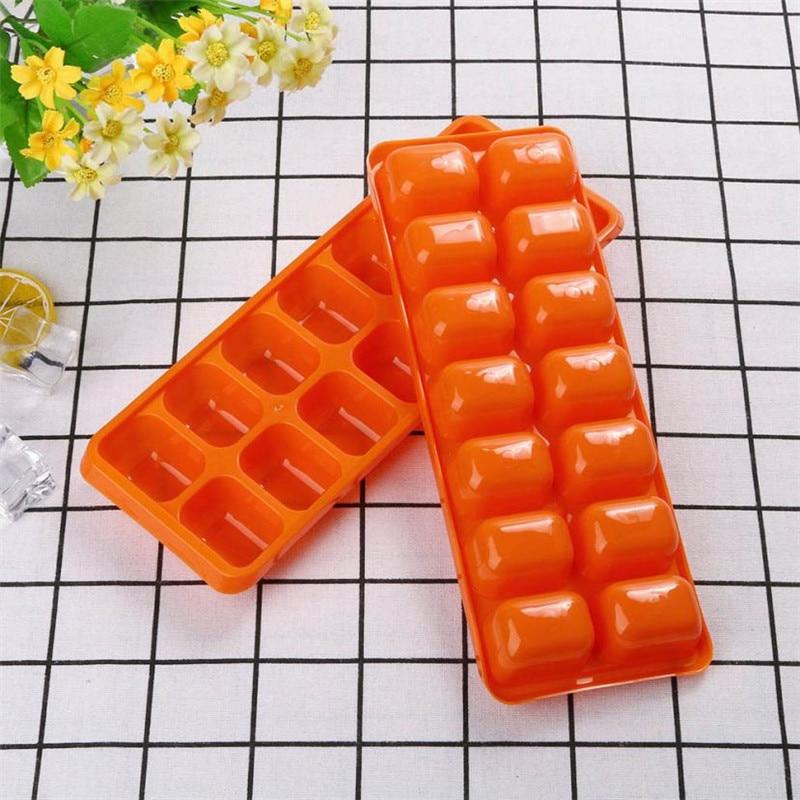 Chocolate Orange Creams Dunmore Candy Kitchen: 2pcs Orange Plastic Ice Cube Mold Freeze Chocolate Jelly