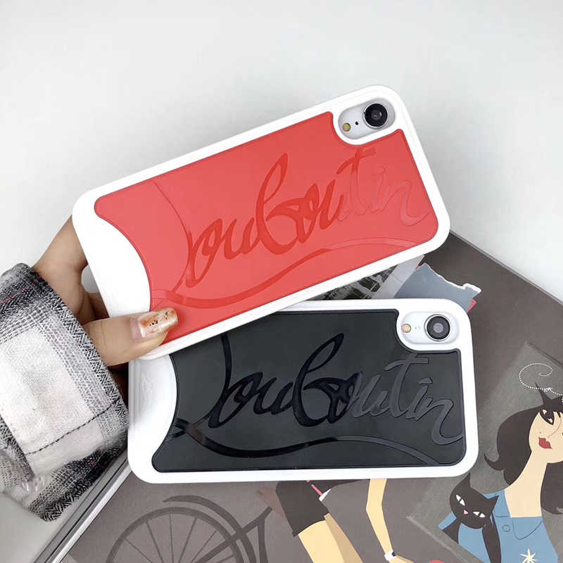 61b3a965972 Luxury Brand Red 3D Sneakers Bottom Phone Case For apple iphone 7 7plus 8 X  XS MAX XR CL sex woman Paris back cover coque funda