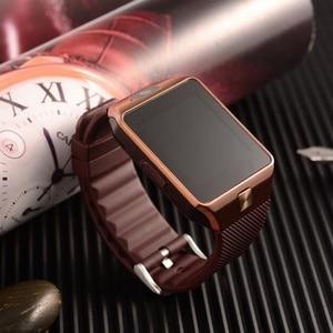Image 5 - New Smartwatch Intelligent Digital Sport Gold Smart Watch DZ09 Pedometer For Phone Android Wrist Watch Men Womens satti Watch