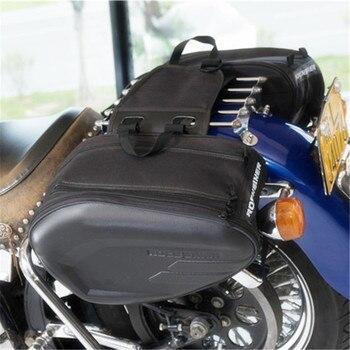 Bolsa impermeable para SILLÍN de Moto, alforjas para equipaje, alforjas para Moto