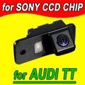 Retrovisor volta inversa estacionamento câmera do carro para Audi A3 A4 A4L TT A5 S5 Q5 à prova d' água NTSC PAL (opcional)
