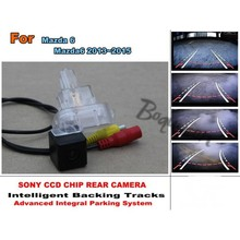 Directive Parking Tracks Camera  For Mazda 6 Mazda6 2013~2015 Rear View Back Up Camera High Quality  Car Electronic Accessory