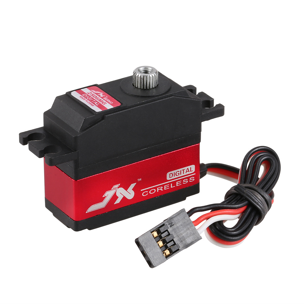 JX PDI-2506MG 25g Metal Gear Digital Servo Coreless Motor for RC 450 500 Helicopter Fixed-wing Airplane