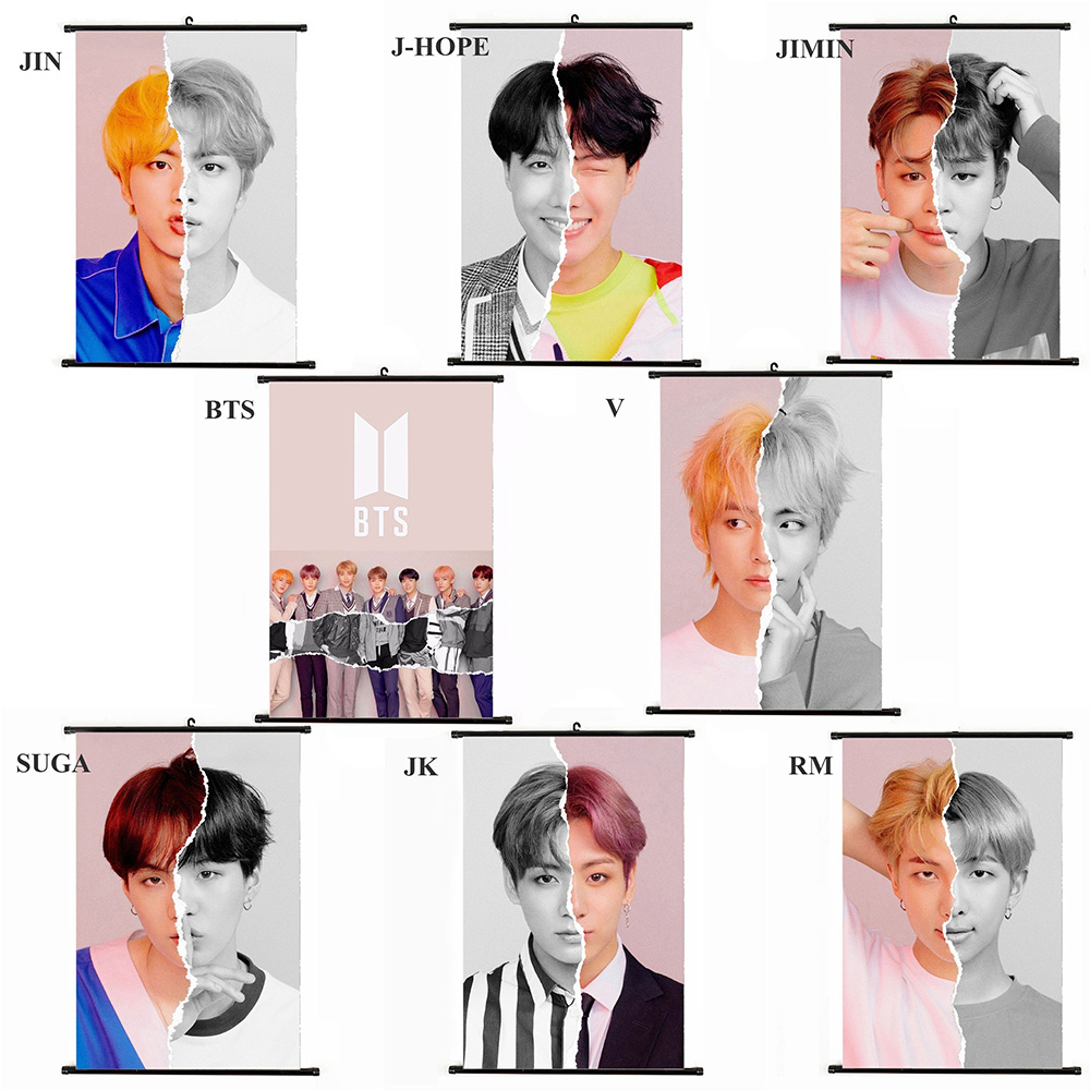 Image Picture Bts Wall Poster Kpop Photo Bt21 Painting