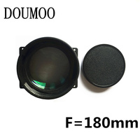 LED projector universal lens DIY HD 1080P projector short focus glass lens F = 180 mm for lcd screen 5 inch 5.8 inch 7 inch