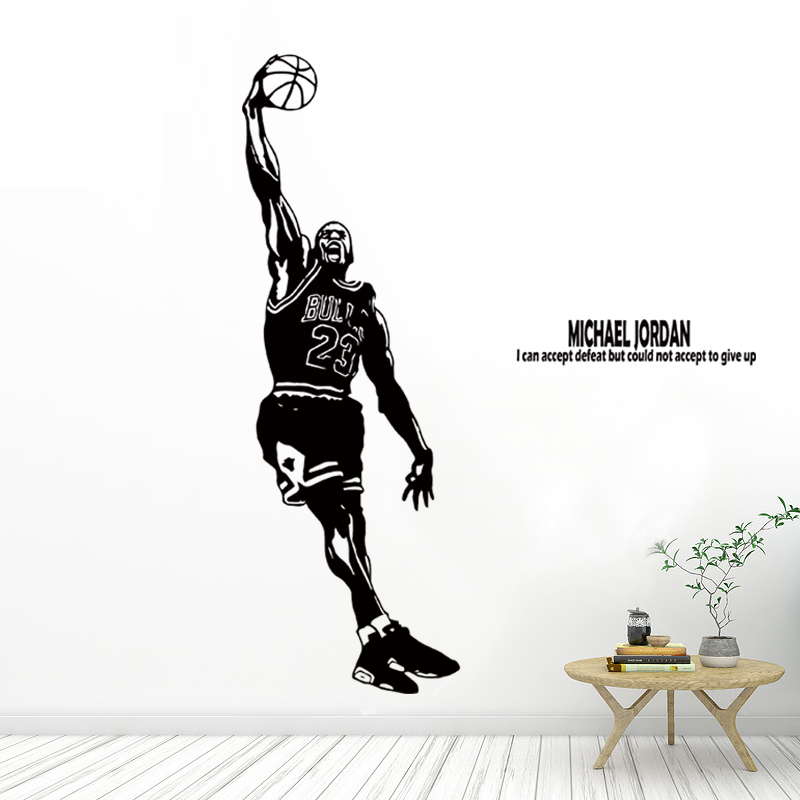 NBA Michael Jordan Basketball Star Poster Student Bedroom