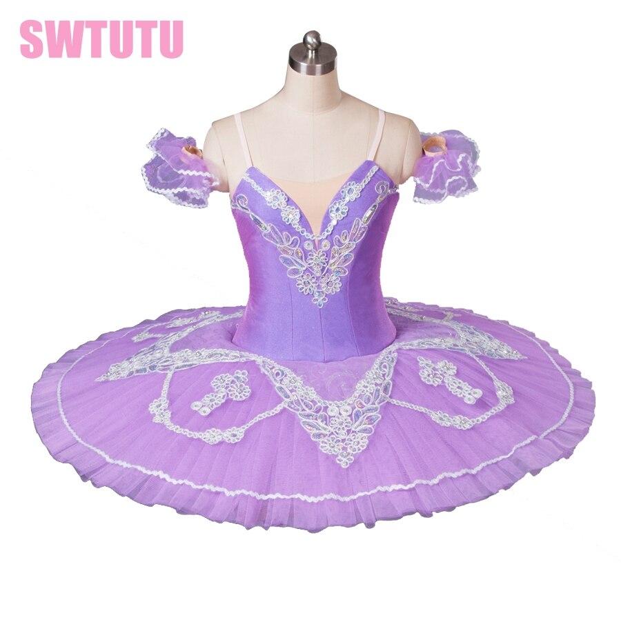 Фиолетовый балетная пачка для девочек пачка балерины женщины Щелкунчик пачка для производительности взрослых Профессиональный Классичес