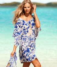 2016 Summer Holiday Dresses Women Sexy Mini Dress Lady Nice Floral Print Short Sleeve Beach Party Dresses Vestidos de festa