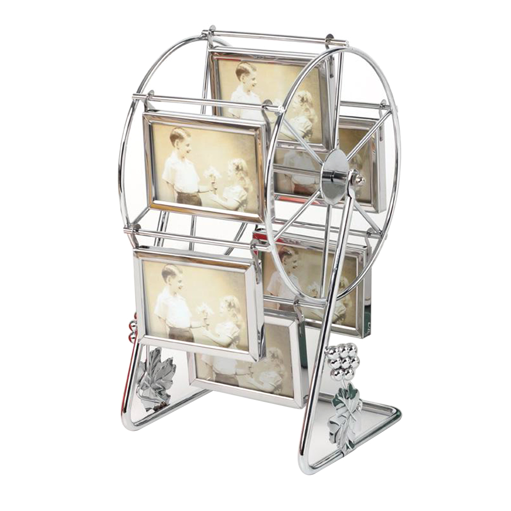 Rotating Ferris Wheel Picture Frame Vintage DIY Keepsake Windmill ...
