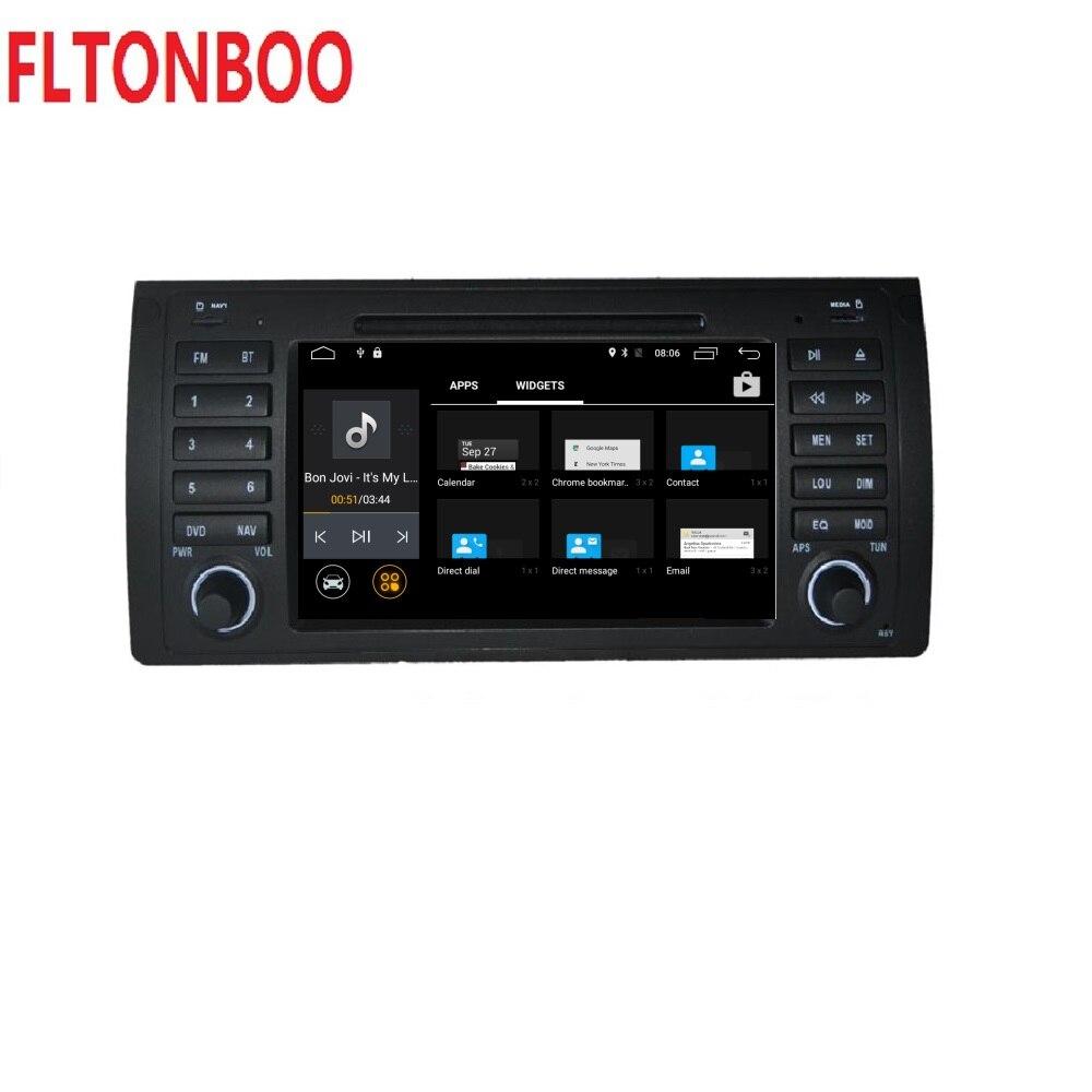 Android 8.1 pour bmw E39, X5, M5, E53 dvd de voiture, navigation gps, wifi, radio, bluetooth, cache de volant Canbus Livraison 8g carte, micro, écran tactile - 6