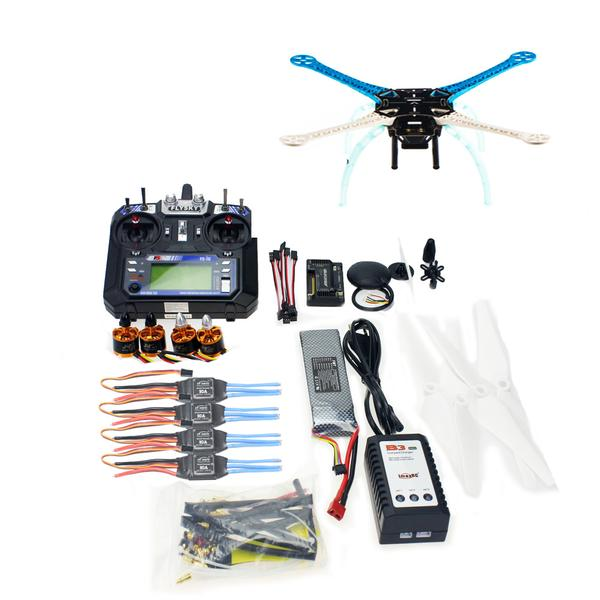 500mm Multi-Rotor Air Full Kit S500 Frame with PCB DIY GPS Drone APM2.8 Flysky 2.4G FS-i6 Transmitter Brushless Motor ESC jmt 500mm multi rotor air frame kit s500 pcb with circuit board for fpv quadcopter gopro gimbal f450 upgrade