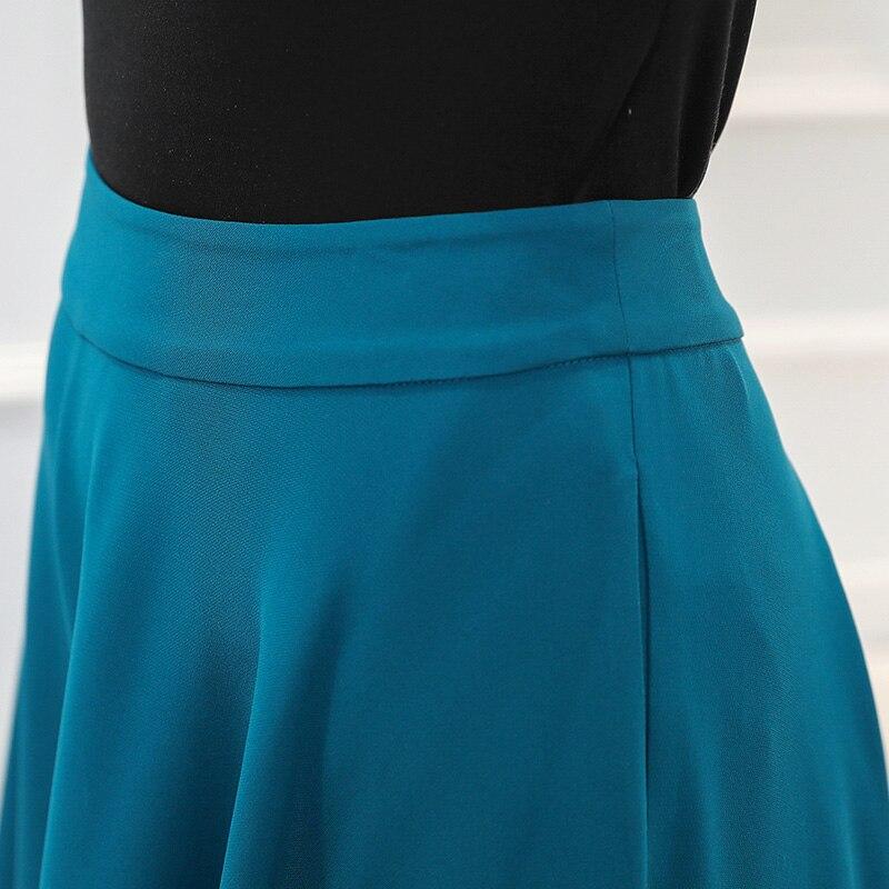 Las Damas Femme Tamaño Chica Mori Pantalones De Gran Mujeres Casual Seda Suelto K512 Broeken Voa Ancha Azul Cian Pierna vRwnqIag