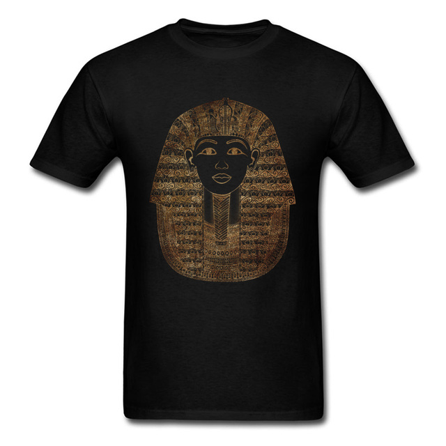 594900a9418 Egypt Pharaoh Printed On T Shirt Men Top Quality 2018 Low Price Simple T- Shirt Purpose Tour Tee Shirt For Youth Custom