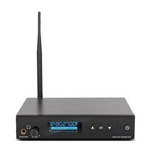 Image 2 - G MARK PSM 500 dans loreille moniteur système en direct UHF sans fil stéréo récepteur personnel scène casque 1 canal 1 son écouteurs