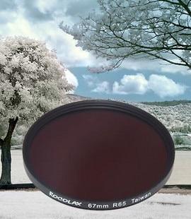 49 52 55 58 62 67 72 77 82mm 550 590 630 650 680 720 760 850 950 1000 nm lente Filtro IR A Raggi Infrarossi Infra-Red per dv fotocamera