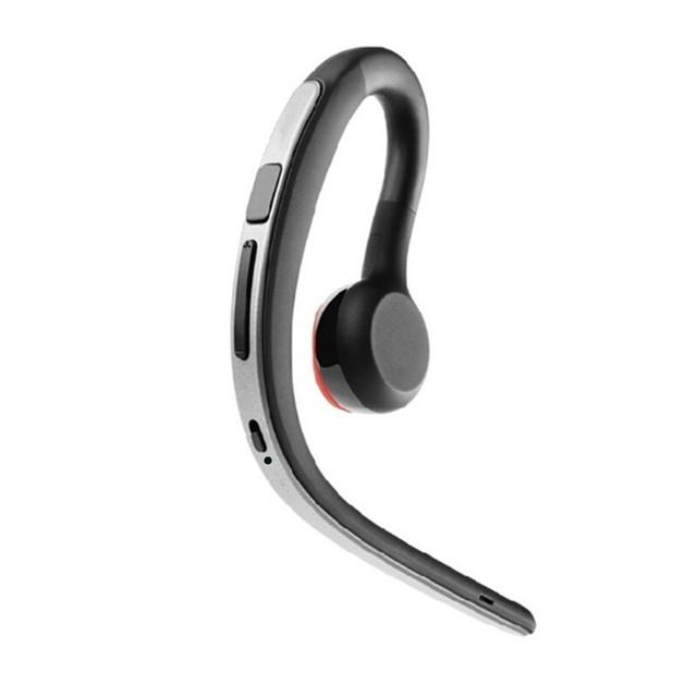 Sweatproof sports Handsfree fones de ouvido Bluetooth sem fio fone de ouvido com microfone único lado controle de voz fone de ouvido com gancho