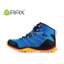 Rax Waterproof Hiking Shoes Men Suede Leather Outdoor Shoe Mountain Hiking Shoes Male Anti-Slip Leisure Sports Shoes D0537