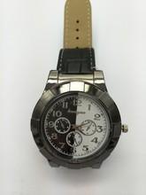 1pcs hot Fashion Rechargeable USB Lighter Watches Electronic Men's Casual Quartz Wristwatches Flameless Cigarette Lighter F667