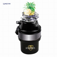 YC 007 220V/50HZ kitchen food garbage disposal crusher food waste disposers kitchen appliances Grinding chamber capacity 1200ml