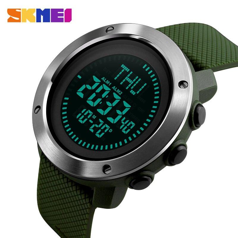 Men Watches Skmei Brand Men Sport Watch 50m Waterproof Digital Fashion Outdoor Military Compass Wristwatches Relogio Masculino Sale Price Men's Watches Digital Watches