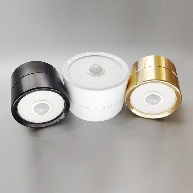 Teto LEVOU sensor de luz de indução corpo humano lâmpada adequado para corredor varanda sala de estar teto luzes led para casa