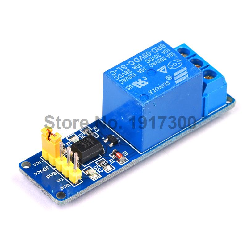 Free Shipping 1 Channel Relay Module Isolated 5V Coupling For font b Arduino b font PIC