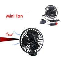 Автомобильный 4 дюймовый бесшумный мини вентилятор 12 В автомобильный