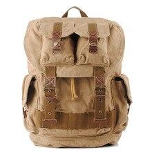 새로운 빈티지 배낭 패션 캔버스 배낭 여행 학교 가방 남여 노트북 배낭 남자 배낭 mochilas 1076
