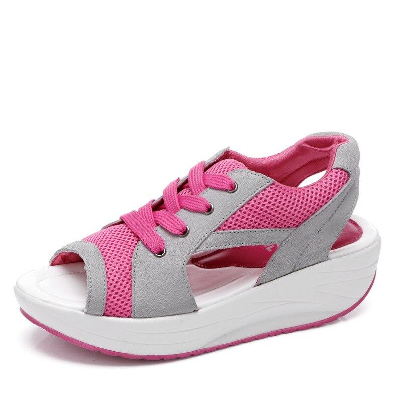 Mujeres zapatos casual nuevas mujeres de la manera zapatos de Plataforma de la m