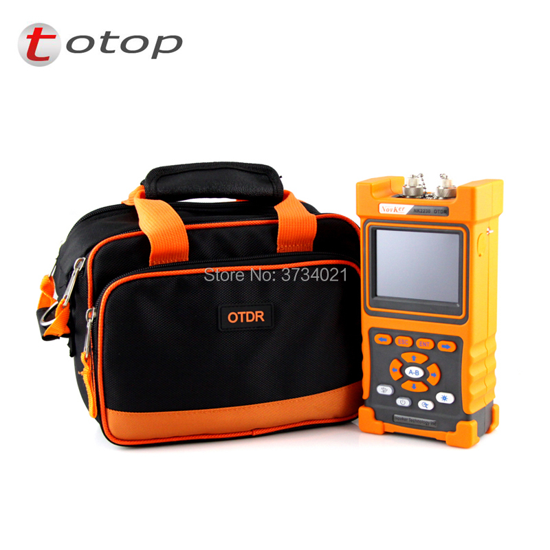 Handheld NK2000 SM OTDR 1310nm/1550nm 28/26dB,Integrated 2MW VFL,Touch Screen 70km~80km Optical Time Domain Reflectometer VFL