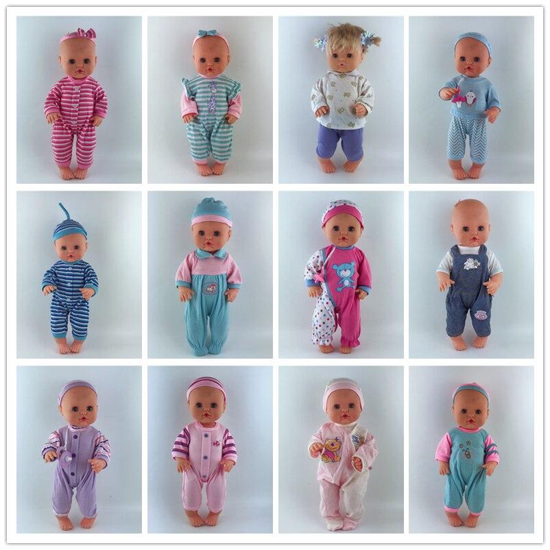 15 Style Choose Doll Clothes Fit 33-35 Cm Nenuco Doll Nenuco Su Hermanita Doll Accessories