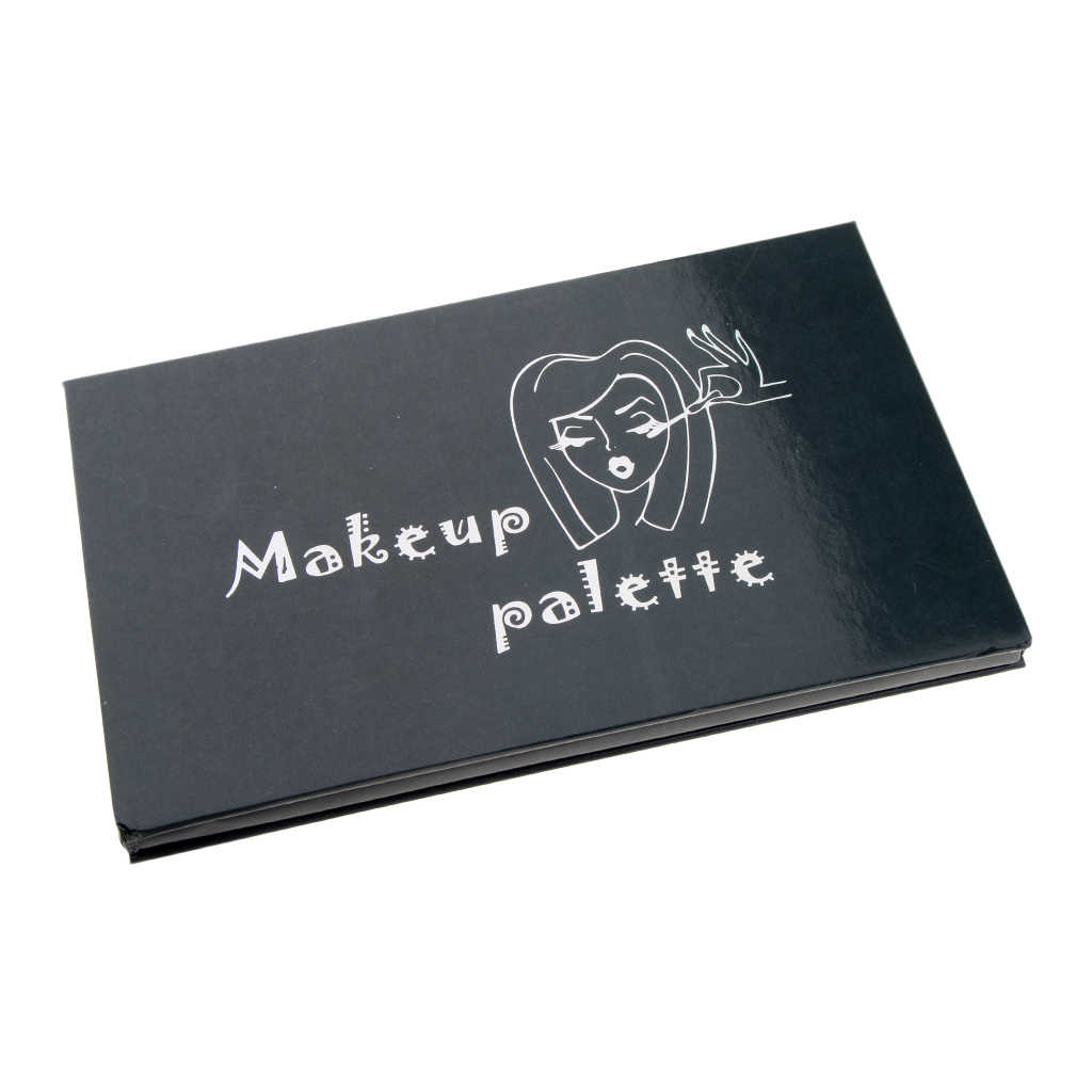 Empty Magnetic Makeup Palette For Eyeshadow Blusher Concealer Powder DIY Makeup Pans With Mirror