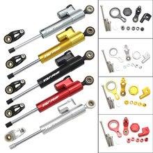 Cnc conjunto de montagem de suporte para motocicleta, suporte de alumínio ajustável para estabilização de direção para yamaha yzf r6 2010-2019