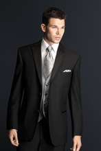 tuxedo dress 2017 suit men bridegroom suits black groom wear jacket+pant formal custom made suit