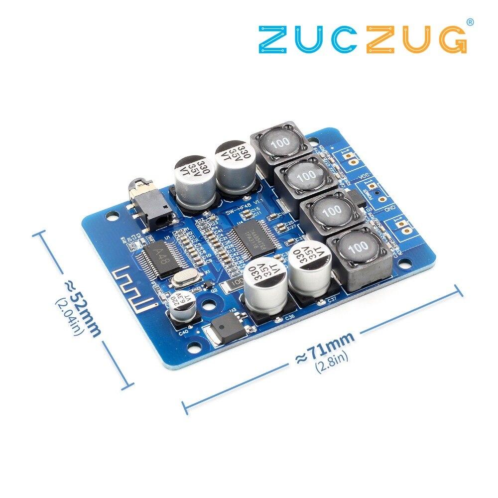 TPA3118 2x30 watt 8-26 v DC Stereo audio Bluetooth Digital power Verstärker Bord Für verstärker D3-001