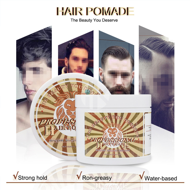 OLOEY Hair Styling Clay Mud for Men Strong Hold Hairstyles Matte Finished Molding Cream Long Lasting Stereotype Hair Mud